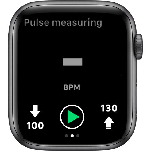 Inactive pulse measuring